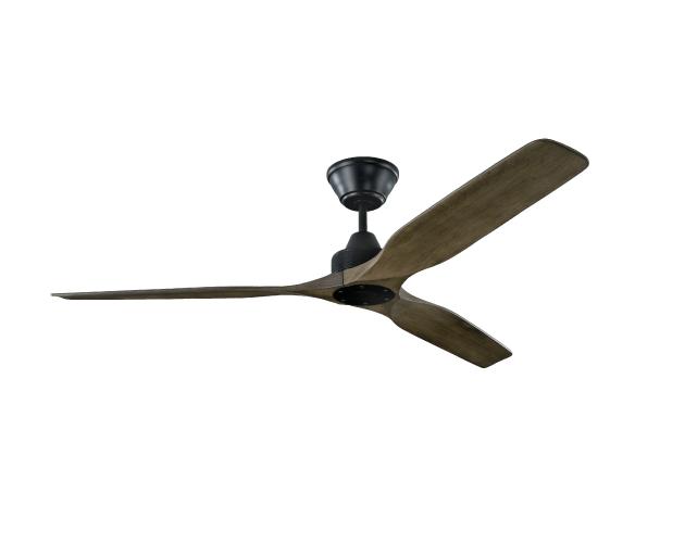monaco weathered oak black ceiling fan